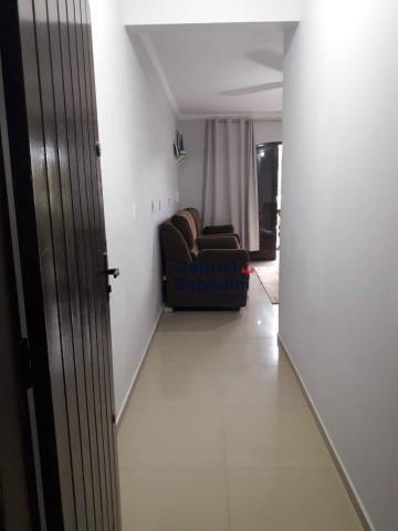 Sobrado com piscina e 4 dormitórios, 1 suítes com ar. locação diária, 135 m² por r$ 1.000, - Foto 16