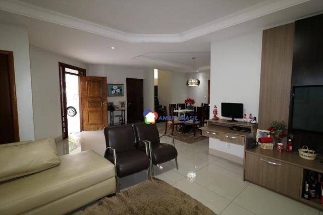 Sobrado com 4 dormitórios à venda, 380 m² por R$ 1.600.000,00 - Residencial Granville - Go