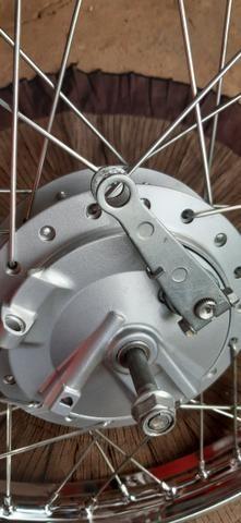 Roda de cg dianteira novo compreta - Foto 5
