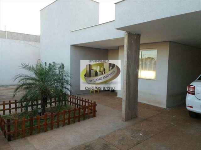 Casa à venda com 3 dormitórios em Ipê, Três lagoas cod:294 - Foto 5