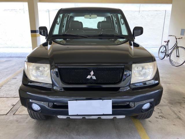 (Repasse) Pajero TR4 4x4 2005/2005, automática, couro, pneus novos