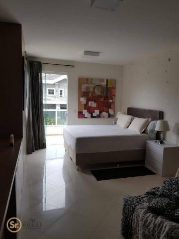 Casa com 5 dormitórios para alugar por r$ 12.000/mês - praia do estaleiro - balneário camb - Foto 18