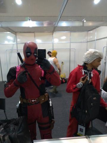 Personagem vivo deadpool - Foto 4