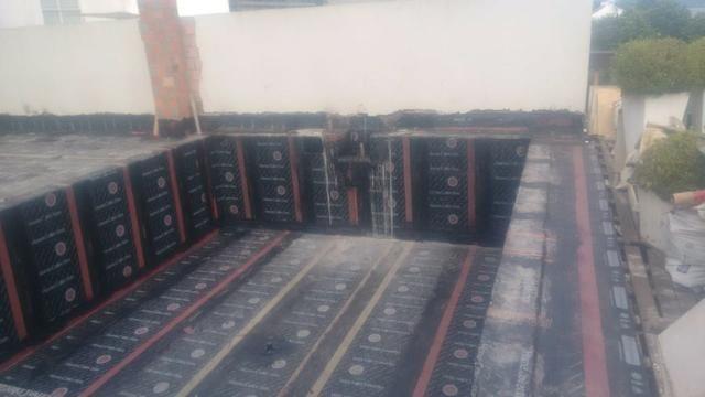 Impermeabilizações em telhados e terraço com manta asfaltica - Foto 2