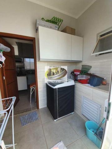 Casa à venda com 3 dormitórios em Parque são carlos, Três lagoas cod:408 - Foto 16