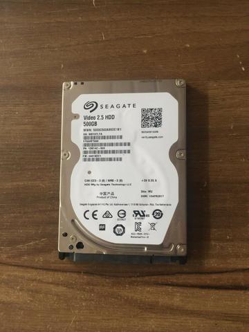 Hd Seagate 2.5 Hdd 500 Gb Para Notebook