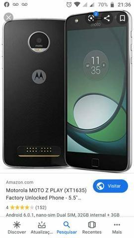 Moto z play so tem que colocar uma tela nova