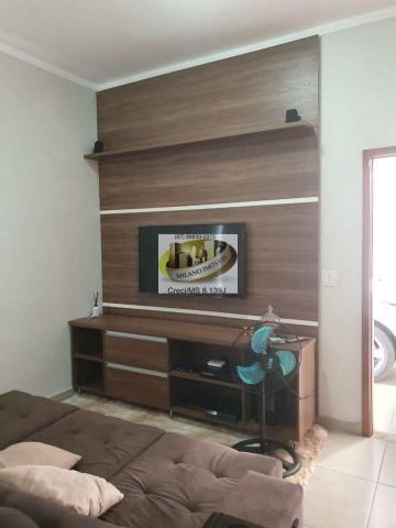 Casa à venda com 3 dormitórios em Parque são carlos, Três lagoas cod:408 - Foto 14