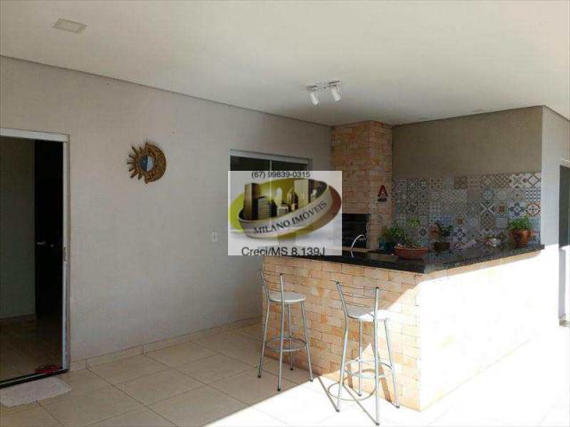 Casa à venda com 3 dormitórios em Ipê, Três lagoas cod:294 - Foto 2