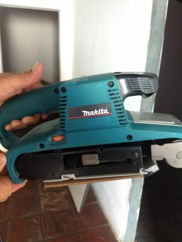 Lixadeira de cinta Makita/ R$700 - Foto 2