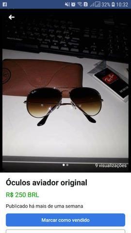 177180eda935f Óculos aviador RayBan - Bijouterias, relógios e acessórios - Cintra ...