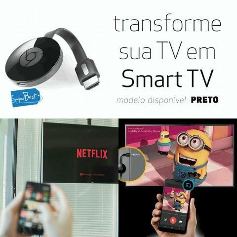 Chromecast 2 transforme sua tv em smart tv
