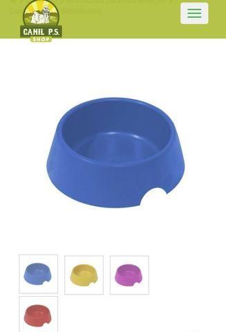 Comedouro Plástico Pop Furacão Pet N1 300ml,