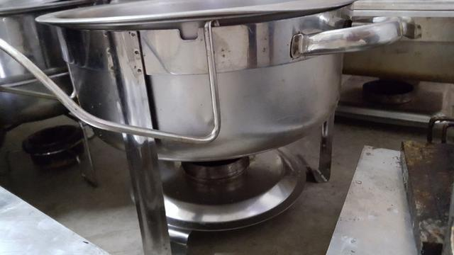 Reachaud Redondo em aço inox