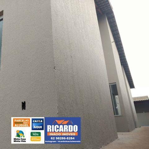 Casa 2/4 Em Goiânia com Amplo Quintal, Aceita Financiamento