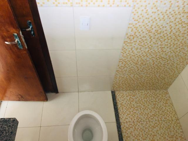 Linda casa com documentação gratis:fino acabamento, 3 quartos , 2 banheiros , 3 vagas - Foto 16