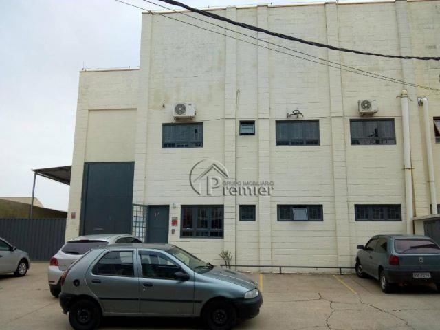 Galpão para alugar, 700 m² por R$ 7.500/mês - Recreio Campestre Jóia - Indaiatuba/SP