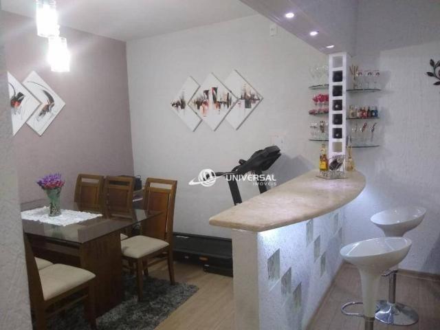 Apartamento Garden com 3 dormitórios à venda, 80 m² por R$ 234.000,00 - Bairu - Juiz de Fo - Foto 3