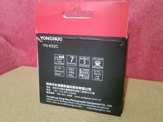 Radio Flash Yongnuo Yn- 622C E-TTL para Canon - Foto 6