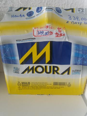 Bateria Moura específica base de troca 18 meses de garantia