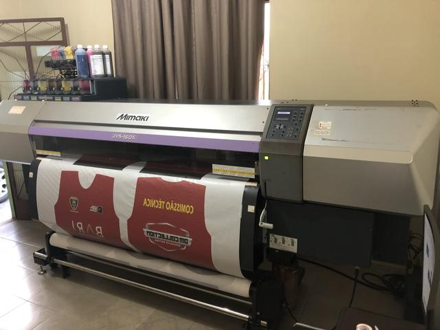 Plotter Mimaki JV5 160 Impressora Sublimação