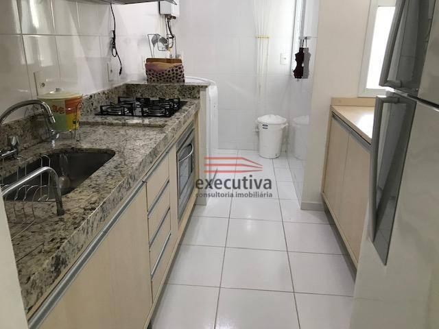 Apartamento com 1 dormitório para alugar, 57 m² por R$ 1.850,00/mês - Jardim das Colinas - - Foto 15