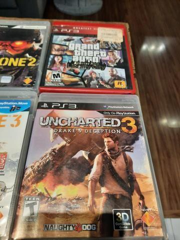 Lote PS3 com 7 Jogos - Foto 2