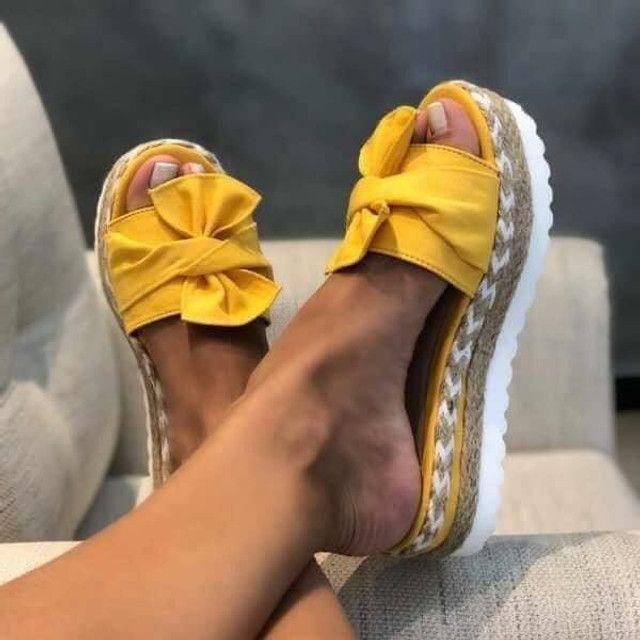 Sandália Flatform - Foto 4