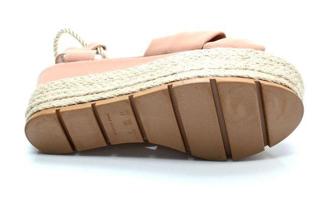 Sandália flatform corda  - Foto 3