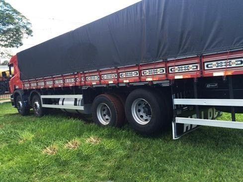 Scania P310 bitruck - 2015/2016 - vermelho