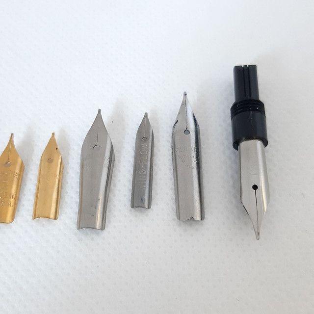 Penas canetas tinteiro, Wing Flow, Compactor e Signature - Foto 2