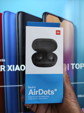 Saldão imperdível.. Redmi AirDots S da Xiaomi - NOVO-  Lacrado com Garantia e Entrega