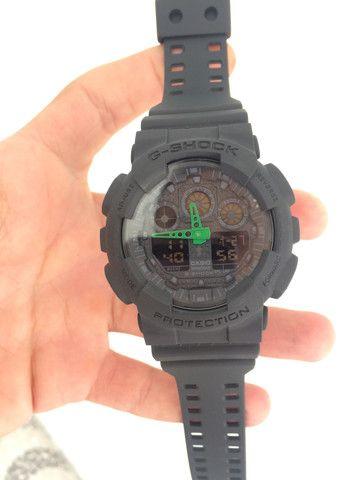 Relógio Casio G-Shock (GA-100)A prova d?água - Foto 5