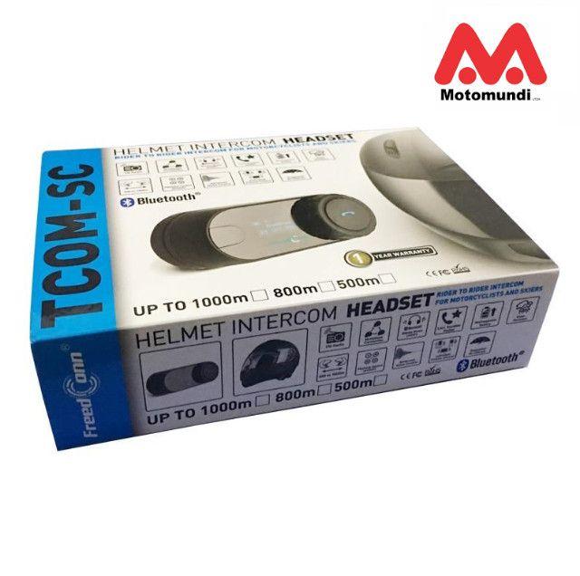 Intercomunicador Bluetooth Mp3 P/ Capacete Tcom-sc