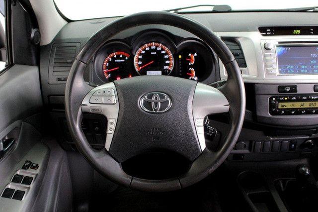Toyota Hilux SRV turbo diesel 4x4 aut. - Foto 11