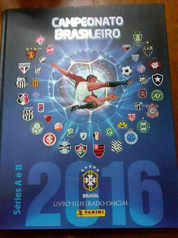 Álbum completo campeonato brasileiro de 2016