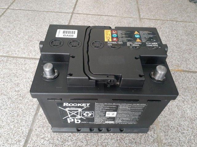 Bateria usada 40 50 60 ah, 120,00 com 03 meses de garantia à base de troca à vista.