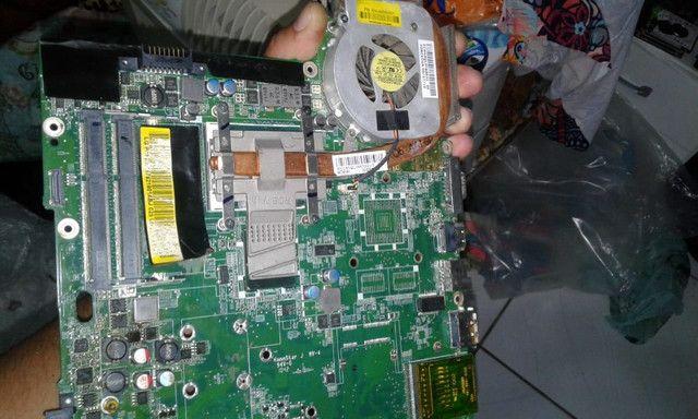 lote de peças e notebooks só ler a descrição reposição ou manutenção - Foto 5