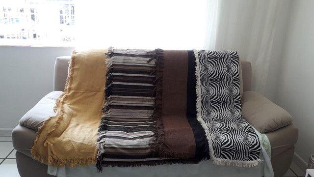 Manta para sofá 2 e 3 lugares