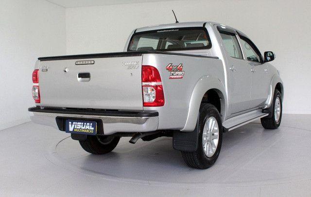 Toyota Hilux SRV turbo diesel 4x4 aut. - Foto 4