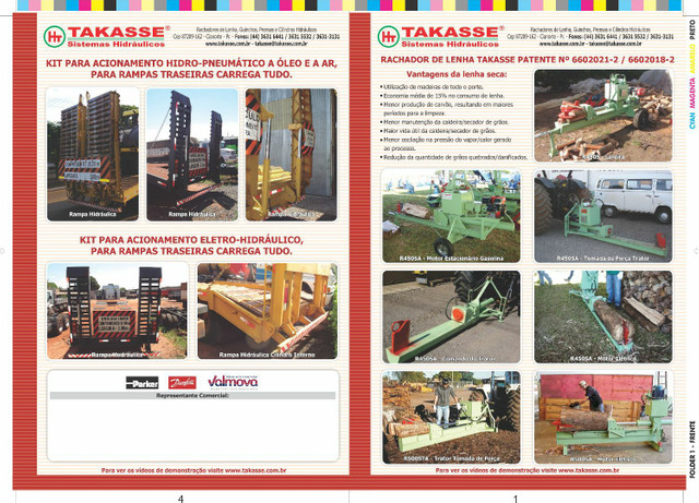 kits hidráulico caçamba piso móvel binotto truck carreta  - Foto 5