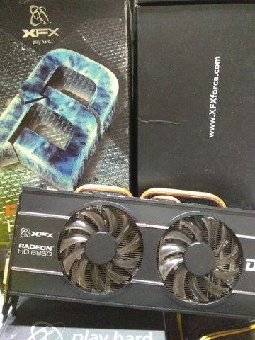 Placa de Vídeo AMD Xfx HD 6850 1Gb GDDR5