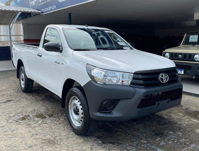 HILUX CABINE SIMPLES 2021 0KM