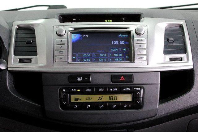 Toyota Hilux SRV turbo diesel 4x4 aut. - Foto 12