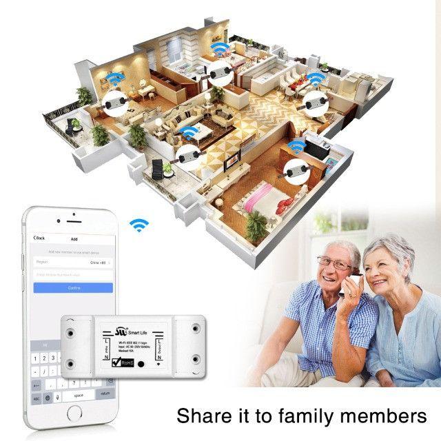 Smart Switch Moes Melhor que Sonoff Automação Alexa Google Home - Foto 4