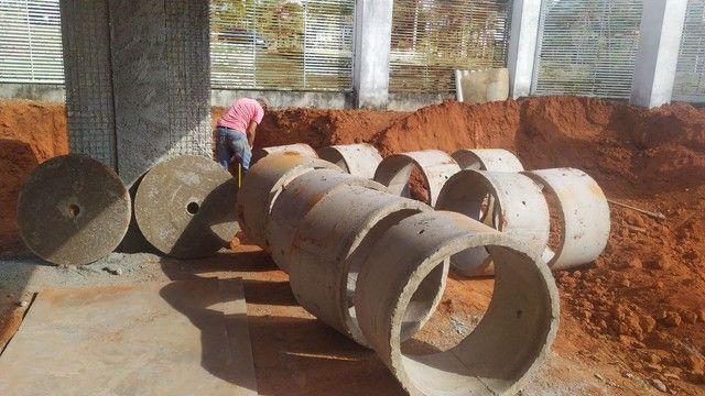 Manilhas cisterna e fossa
