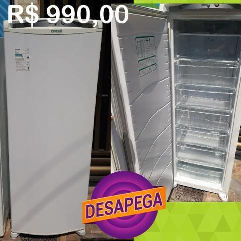 Geladeira freezer conservada DESAPEGAA uppp Imperdível