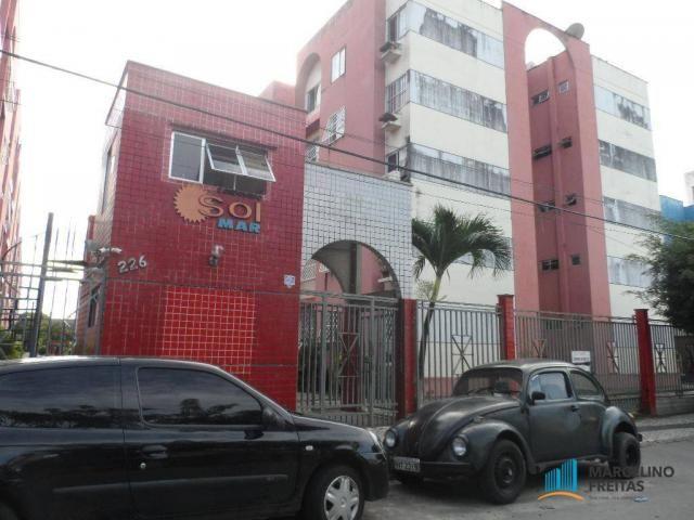 Apartamento residencial à venda, Parque Tabapua, Caucaia.