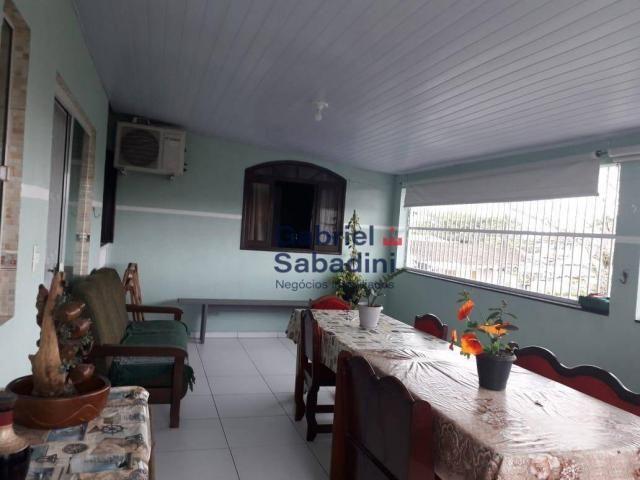 Sobrado com piscina e 4 dormitórios, 1 suítes com ar. locação diária, 135 m² por r$ 1.000, - Foto 17