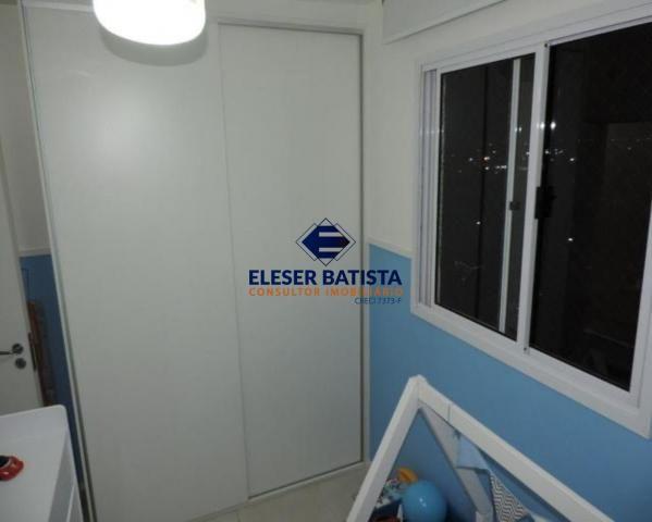 Apartamento à venda com 3 dormitórios em Villaggio limoeiro, Serra cod:AP00224 - Foto 4